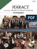 Rotaract MUN 2013 - Global Model United Nations
