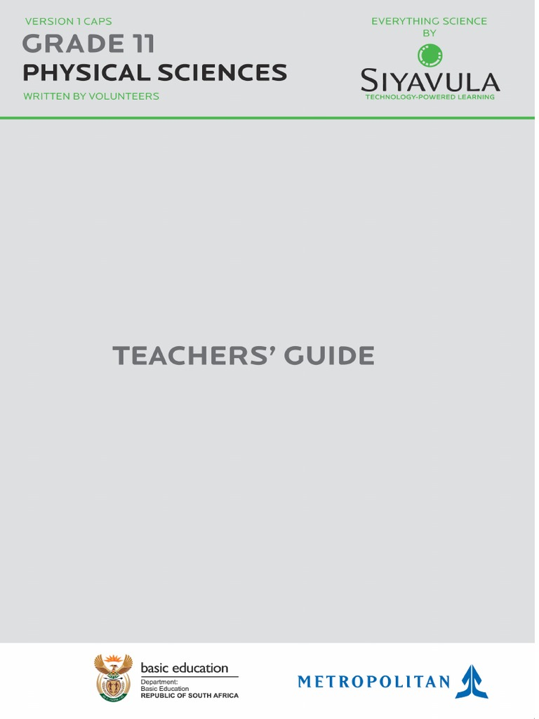 science grade 11 caps teachers guide curriculum learning rh es scribd com earth science grade 11 teacher's guide siyavula everything science grade 11 teacher's guide