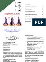 Programme 13-14 Liao Chan Qi Gong
