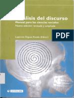 Analisis Del Discurso en Las Ciencias Sociales