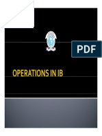 Operation in Ib