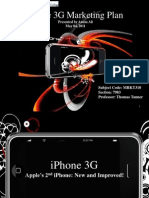 iPhone 3GS Marketing Plan