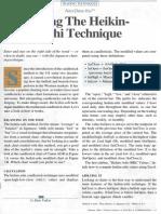 Using the Heikin Ashi Technique d Valcu (1)