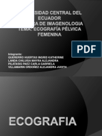 Fundamentos de La Ecografia y Ecografia Trasvaginal