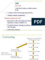 Coal Analysis