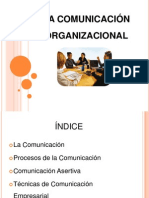 La Comunicacion Organizacional 1