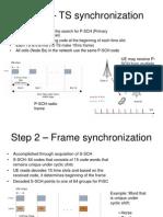 Step 1 – TS synchronization1
