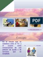 4.La Relación Profesional