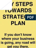 4. Key Steps Towards Strategic Plan