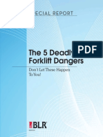 The 5 Deadly Forklift Dangers