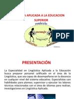 La Linguistica Aplicada a La Educacion
