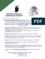 cnidarian  ctenophora projects