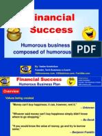 Financial Success Humorous Bp