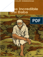 The Incredible Sai Baba by Arthur Osborne