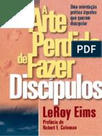 o Livro a Arte Perdida de Fazer Discipulos Leroy Eims