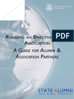 Running an Effective Alumni Association Current