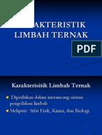(k3) Karakteristik Limbah Ternak