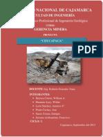 Proyecto Chucapaca resumen