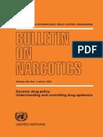 Bulletin of Narcotics 1,2-2001