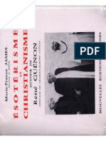Marie-France James - Esoterisme et Christianisme, autour de René Guénon