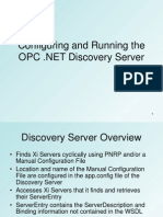 OPC .NET 3.0 (WCF) Configuring and Running the Discovery Server