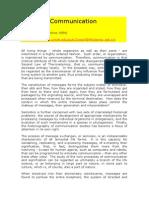 Communication. Thomas A. Sebeok.doc