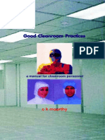 Good Cleanroom Practices