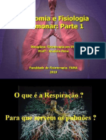 Aula1 Fisiologia Pulmonar Parte1