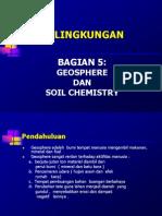 5 Geosphere Soil Chemistry