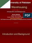 Data Ware Housing
