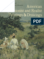 American Impressionist and Realist Paintings and Drawings From the Collection of Mr and Mrs Raymond