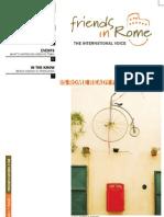 Friendsinrome   THE INTERNATIONAL VOICE   issue 1