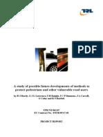 Report Pedestrian Protection Methods En