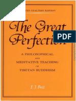 Great Perfection[Dzogchen]
