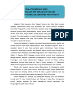 Artikel Diklat Pengurus SBH Sept 2013
