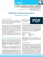 Newsletter Erhoehtes Lipoprotein