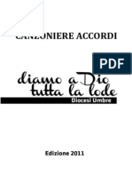 2011 - Canzoniere Diamo a Dio Tutta La Lode - ACCORDI