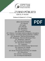 Edital Concurso Professores 2005