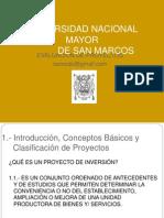 Clase 1-Formulacion y Evaluacion de Proyectos