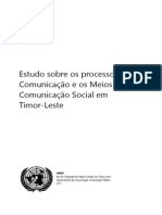 Media Survey Report CPIO FINAL PT