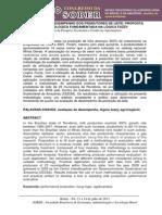 AVALIAÇÃO DE DESEMPENHO DOS PRODUTORES DE LEITE