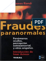 Fraudes Paranormales - James Randi