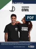 Camisa Engenharia Civil