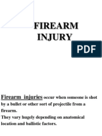 Forensic Medicine - Firearm Injuries