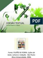 COESÃO TEXTUAL - Platão e Fiorin