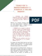 Teshuv�h o Arrepentimiento y Yom Kippur o D�a del Perd�n.pdf