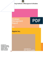 Deepak- Strategic Managemt -Apple
