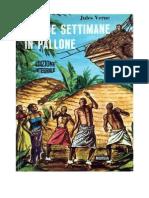Jules Verne - Cinque Settimane in Pallone (Ita Libro)