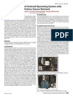 Integration of Android Operating System With Wireless Sensor Network
