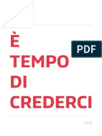 Documento Programmatico Cuperlo